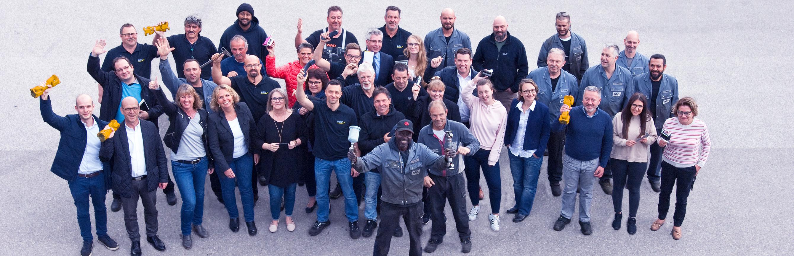 Foto des Teams vonELBE Gelenkwellen-Service