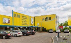 Fassade des aktuellen Firmensitzes von ELBE Gelenkwellen-Service